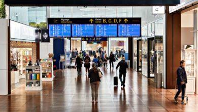 صورة إلزام المسافرين عبر المطارات الدنماركية بارتداء الكمامات ابتداءً من 15 يونيو/حزيران