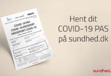 "Photo of للمسافرين إلى خارج الدنمارك: يمكنك الآن الحصول على ""وثيقة سفر COVID-19"""