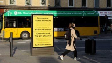 صورة ارتفاع ملحوظ في عدد الإصابات بالكورونا في مدينة Aarhus