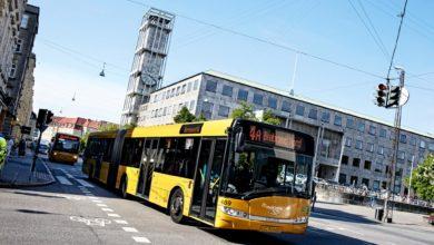 صورة إصابة عدد من سائقي الحافلات في مدينة Aarhus  بالكورونا