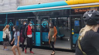 صورة الكمامات في وسائل النقل العام إلزامية ابتداءً من اليوم وفرض غرامات على المخالفين