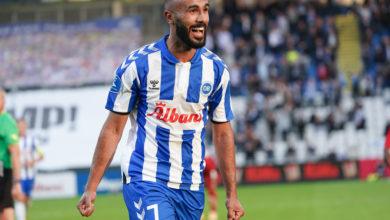 صورة لاعب تونسي يتألق في الدوري الدنماركي لكرة القدم