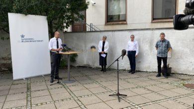 صورة وزير الصحة:  سنتخذ إجراءات للحد من انتشار العدوى في كوبنهاجن وأودنسه